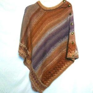 Simply Noelle Boho Knit Poncho